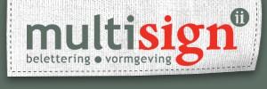 Multisign2 belettering & vormgeving
